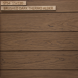 STS4 Brushed Dark Thermo Alder