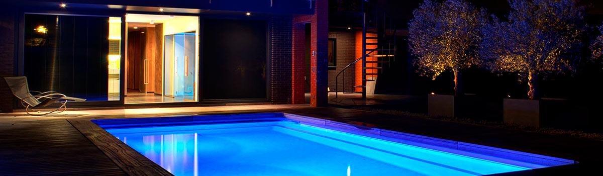 Verlichting zwembad
