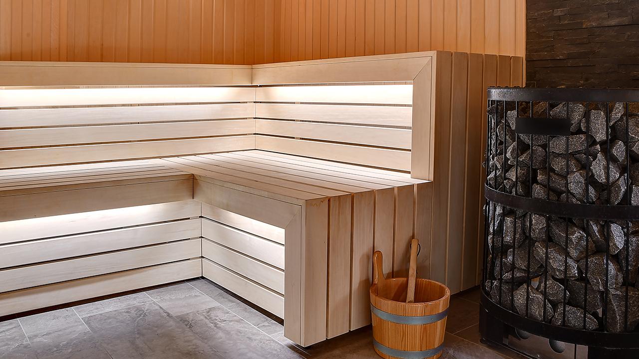 Het gebruik van een Finse sauna