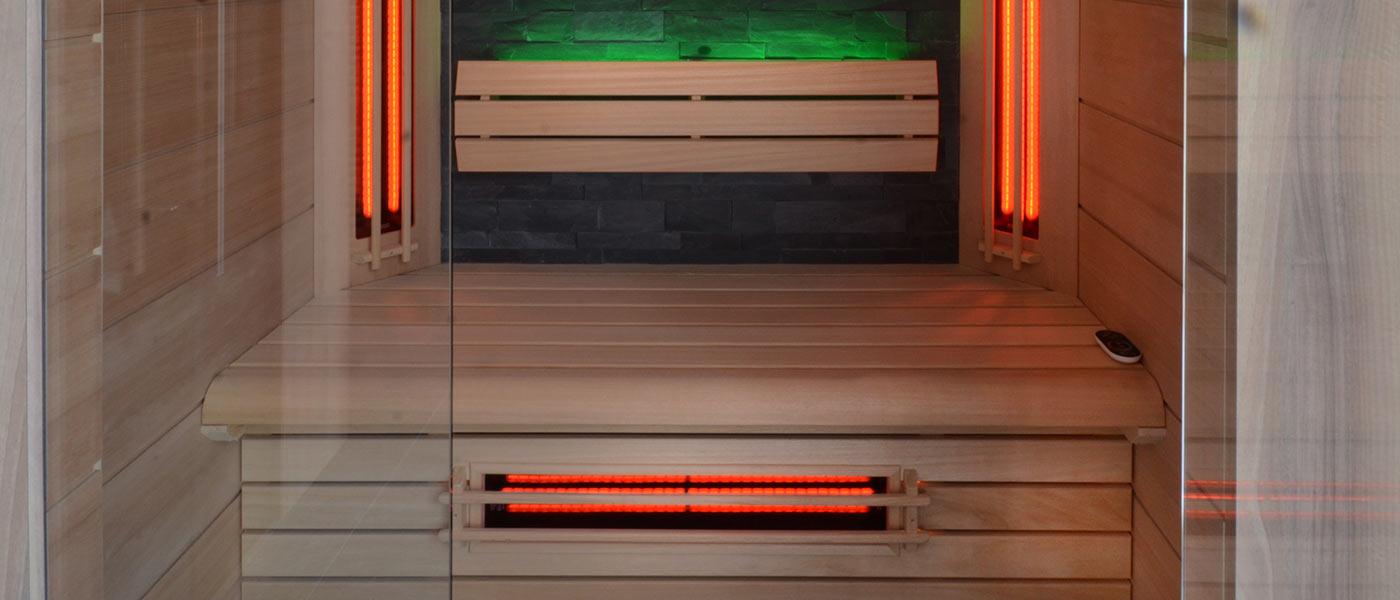 Hoe gebruik ik een infrarood sauna
